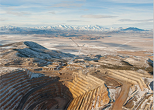 One of Canada's Barrick Gold Corporation's 27 operating mines.