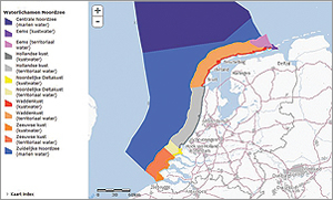 ArcGIS Online is the portal for obtaining the North Sea maps.