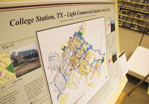 GIS supports research in nearly every college and agency at Texas A&M University.