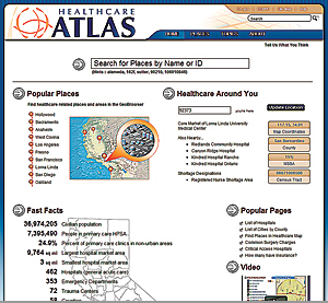The <em>California Healthcare Atlas</em> is a powerful tool for making data comprehensible.