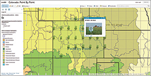 Map notes in an ArcGIS Online map