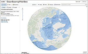 The newly released Arctic Ocean Basemap—Beta