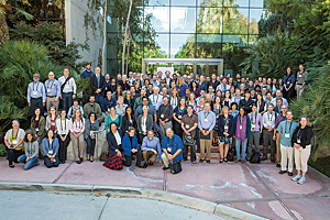 First Ocean GIS Forum attendees