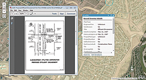 ArcGIS Online Field Viewer for Line Locators lets field-workers view the location of as-builts throughout the city and retrieve PDFs for specific as-builts.
