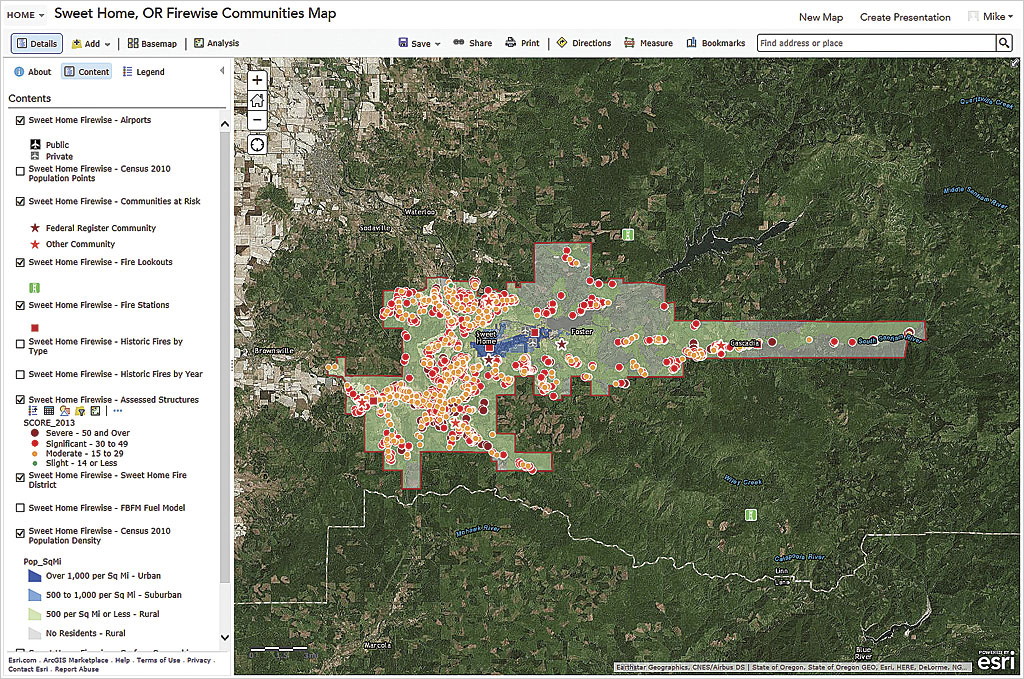 Using Web GIS to Build Consensus and Combat Wildland Fire Threats