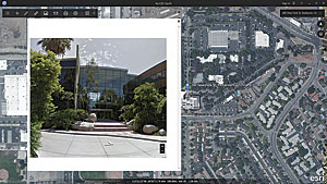 Developers with a Google Apps API key can implement Google Street View inside ArcGIS Earth.