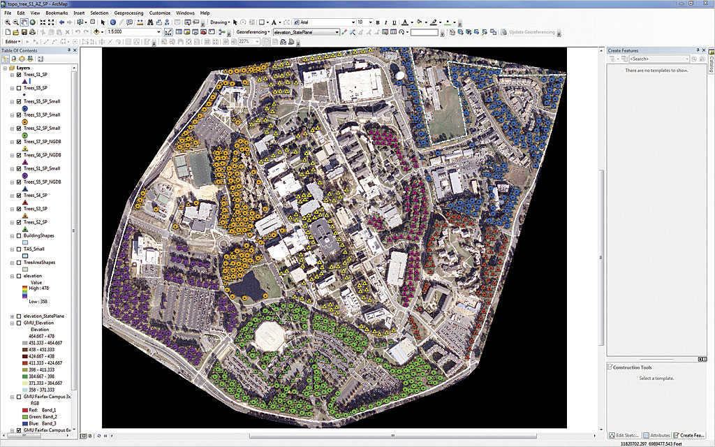 Creating a 3d campus scene using esri cityengine arcuser for Kmz to dxf
