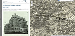 The Esri Story Map 200 years topography outlines the history of Dutch topographic mapping.