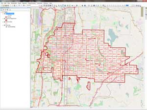 Add the layer files for Kent Fire Department and the Open Street Map basemap.
