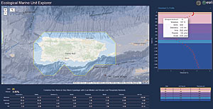 EMU Explorer apps were developed so the EMUs and the original NOAA World Ocean Atlas data could be explored using a web browser or mobile device.