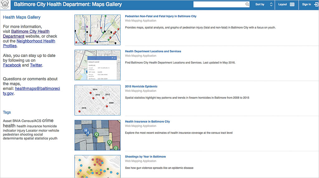 get ready to launch your online web map gallery arcuser