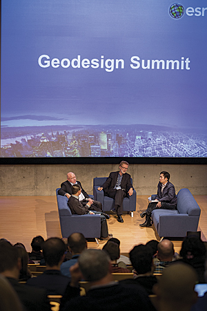 The Geodesign Summit drew a record 260 attendees from the United States and Abroad.