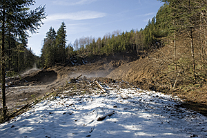 Landslides cause significant damage in Washington state. (Photo: Adam DuBrowa/FEMA)