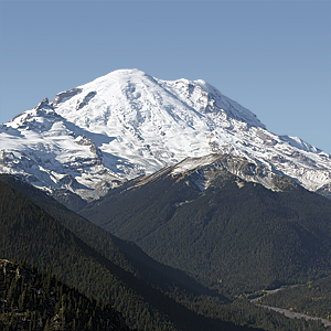 An eruption by Mount Rainier could cause billions of dollars of damage from lahar flows.