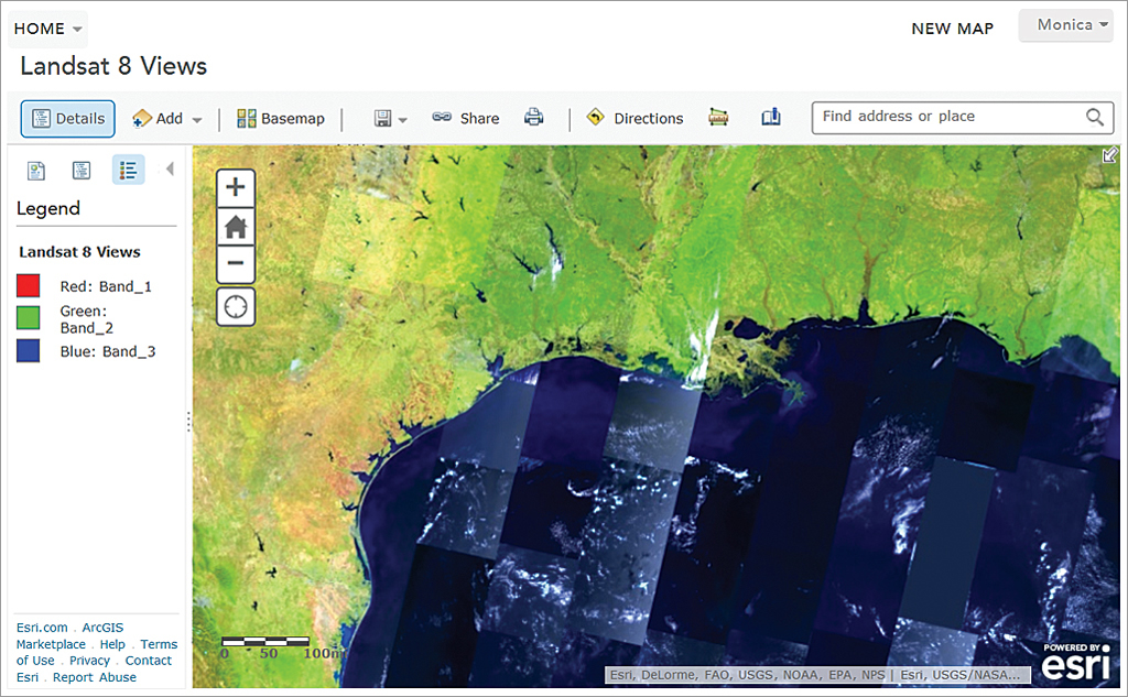 how to download map from arcgis online