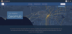 GeoHub makes more than 500 layers of Los Angeles' map-based data readily available.
