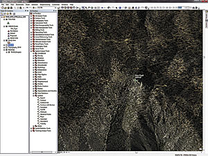 After adding the Imagery basemap from ArcGIS Online, zoom to Toro Peak.