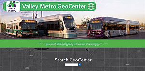 Valley Metro provides information on ridership numbers via Valley Metro GeoCenter, an ArcGIS Open Data site.