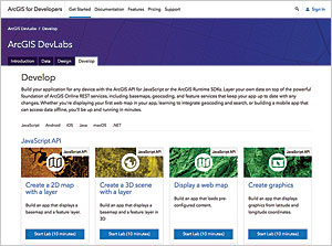 Esri DevLabs lets you learn how to build apps through short, focused tutorials.