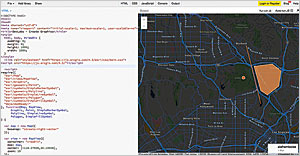 A solution for one of the Esri DevLabs on using the ArcGIS API for JavaScript.