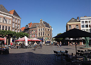 The central square of the old center of Zwolle.