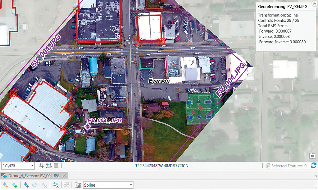 Test Georeferencing Transformations Arcuser