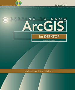 Buy Getting to Know ArcGIS for Desktop now.