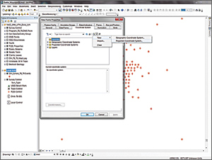 Create a new custom projected coordinate system called Old_Rattler_Local_Grid.