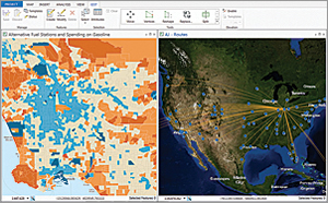 ArcGIS Pro provides you with the ability to create, document, discover, and share your geographic information with others.