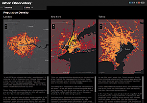 "The Urban Observatory, through its use of ArcGIS, allows an ""apples-to-apples"" comparison of cities."