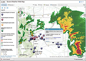 Data and other resources gathered by government agencies and others are made readily available through the geocollaboration portal.
