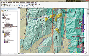This exercise uses data shown on the US Geological Survey Antler Peak 7.5-minute quadrangle.