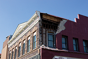 The 6.0 magnitude South Napa Earthquake caused severe damage to historic buildings and homes in the City of Napa, California.