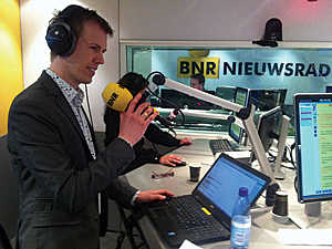 Harmen van Doorn of Esri Nederland B.V. was interviewed by <i>BNR Nieuwsradio</i> about the election result trends that the maps showed.