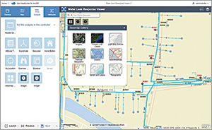 Preview the Basemap widget in Web AppBuilder for ArcGIS.
