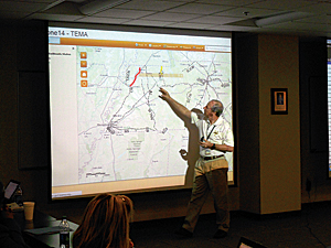 The ability to visualize information in a geographic format proved vital in the high-stakes scenario of a major quake.