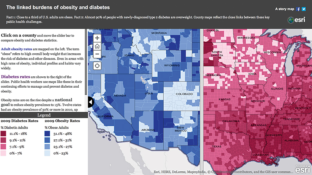 Make Maps That Get Value From Data - Esri story maps