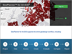 GeoPlanner is a new web-based premium app hosted on ArcGIS Online.