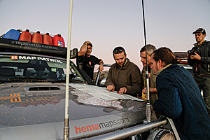 In pursuit of cartographic accuracy, the Hema Map Patrol teams traverse some of the most remote areas of Australia.