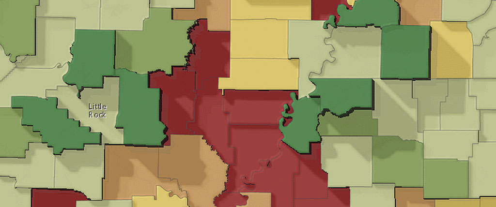 Take Your Terrain Mapping to New Heights | ArcUser Choropleth Map Maker Online on