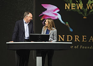 Andrea Wulf, author of The Invention of Nature about Alexander von Humboldt, was the keynote speaker at the 2016 Esri User Conference.