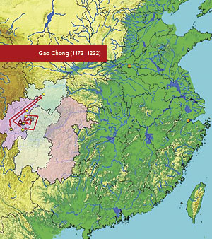 Two Cases of Career Paths. Song Chen, assistant professor of Chinese history, developed a geospatial dataset from funerary biographies of Chinese civil servants from the 10th to the 13th centuries and mapped their locations to better understand the relationship between the imperial state and the local government leaders.