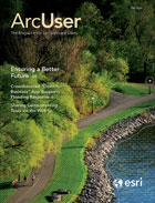 ArcUser Fall 2016 cover