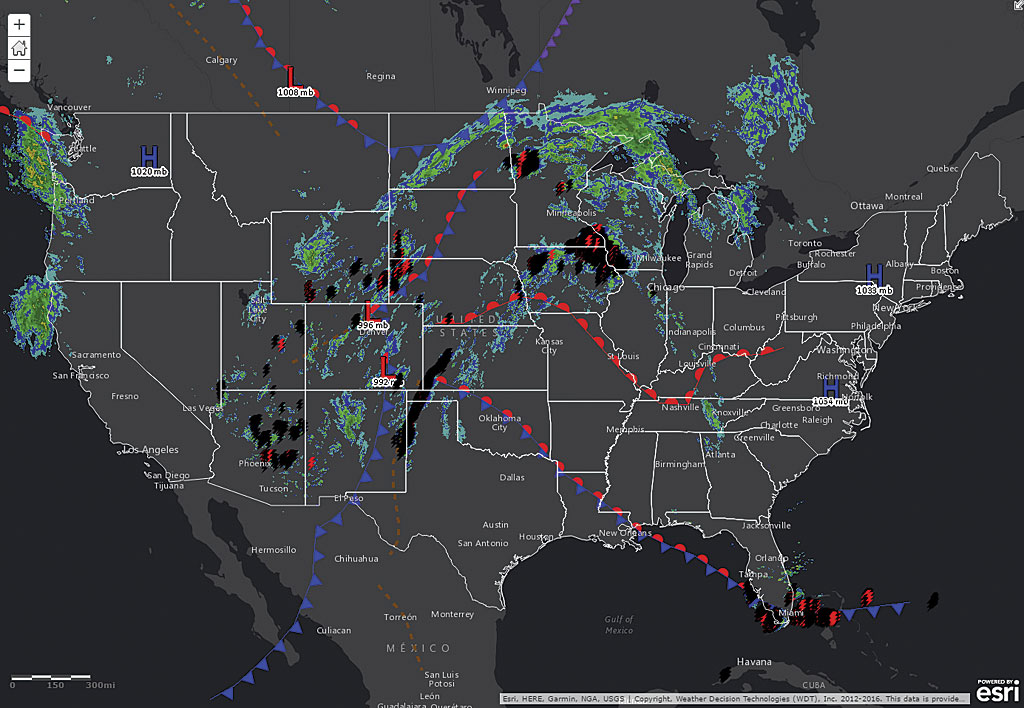 Forecasting Weather With Big Data In The Cloud Arcuser