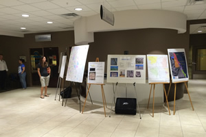 The City of Palm Bay, Florida, hosted a map gallery.