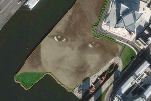 DigitalGlobe Global Basemap Service offers up to 50-centimeter resolution imagery.