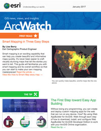 read the ArcWatch January 2017 issue