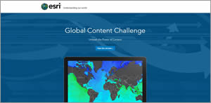 Esri sponsored the Global Content Challenge to introduce students to the Living Atlas of the World content and sharpen their GIS skills.