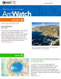 read the ArcWatch January 2018 issue