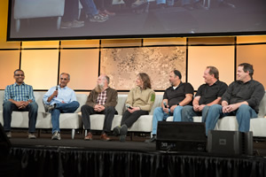 A panel of Esri developers will sum up the week and take more questions.